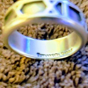 Tiffany & Co. Retired 1995 Atlas Ring
